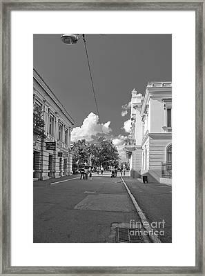 Lapusneanu Street Framed Print by Gabriela Insuratelu