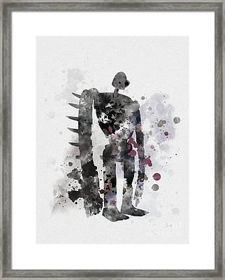 Laputa Robot Framed Print