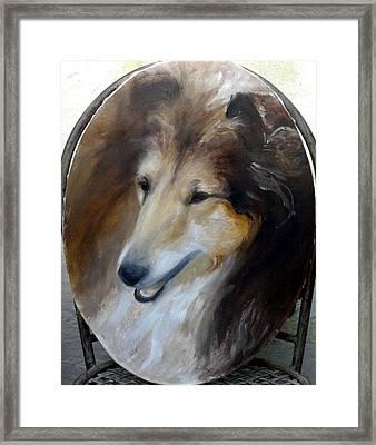 Lara Framed Print by Elisabeth Nussy Denzler von Botha