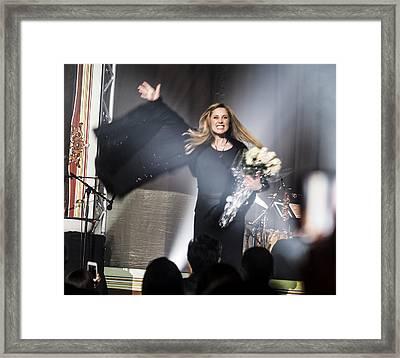 Lara Fabian At The Saban - Sharing The Love Framed Print