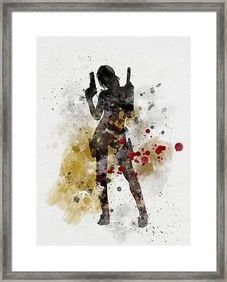 Lara Framed Print by Rebecca Jenkins