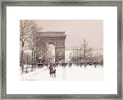 L'arc De Triomphe Framed Print