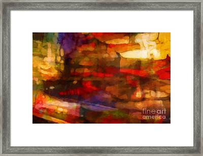 Large Drama Framed Print