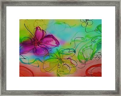 Large Flower 2 Framed Print