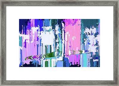 Large Gap Framed Print