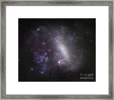 Large Magellanic Cloud Framed Print