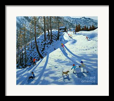 Swiss Landscape Framed Prints