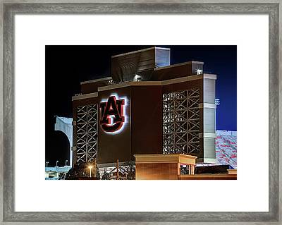 Largest In The Ncaa Framed Print by JC Findley