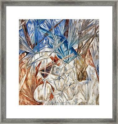 Larionov: Glass, 1912 Framed Print by Granger