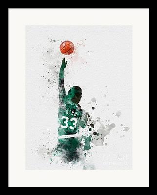 Celtics Basketball Framed Prints