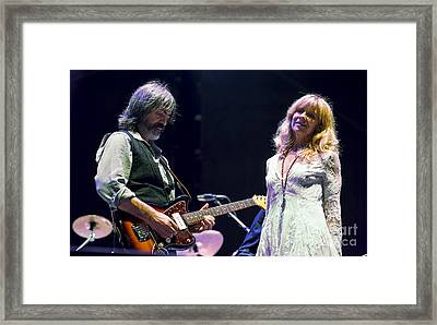 Larry Campbell And Teresa Williams  Framed Print