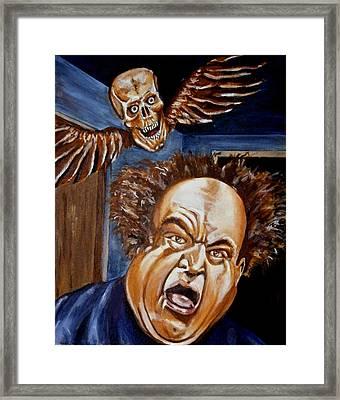 Larry Fine Framed Print