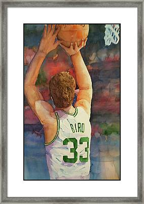 Larry Legend Framed Print by Fred Smith
