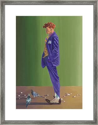 Larry Lightshoes Framed Print