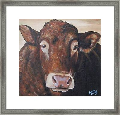 Larry Limo Framed Print by Laura Carey