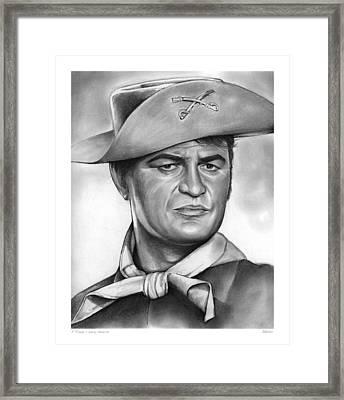 Larry Storch Framed Print