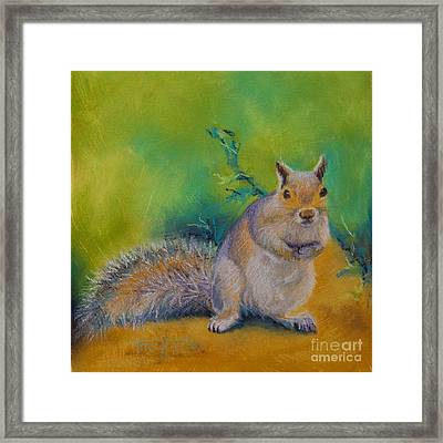 Larry Framed Print by Tracy L Teeter