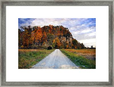 Larue Pine Hills 1 Framed Print by Marty Koch