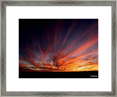 Las Cruces Framed Print by Adam Jones