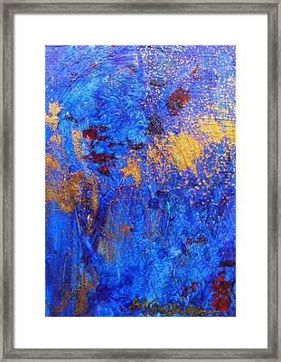 Framed Print featuring the painting Las Flores by Mary Sullivan