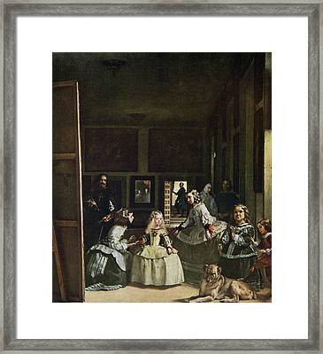 Las Meninas By Diego Velazquez. From Framed Print by Vintage Design Pics
