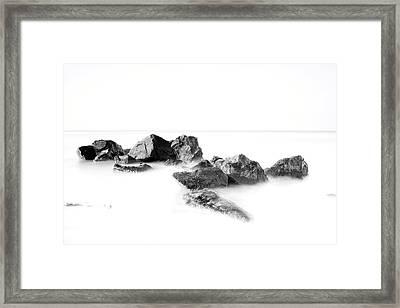 Las Rocas Framed Print
