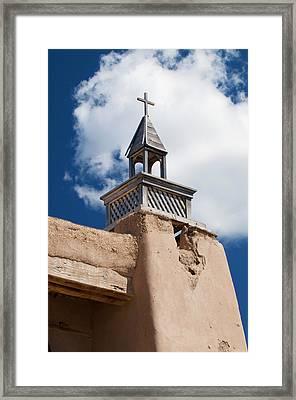 Las Trampas Church Framed Print