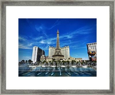 Las Vegas 016 Framed Print