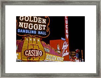 Las Vegas 1964  I Framed Print