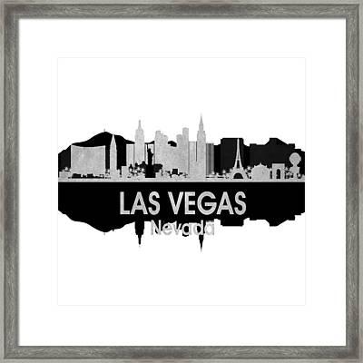 Las Vegas Nv 4 Squared Framed Print by Angelina Vick