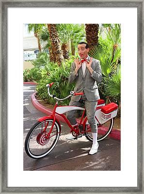 Las Vegas Pee Wee Framed Print by Iryna Goodall