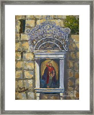 l'Ascensione Framed Print