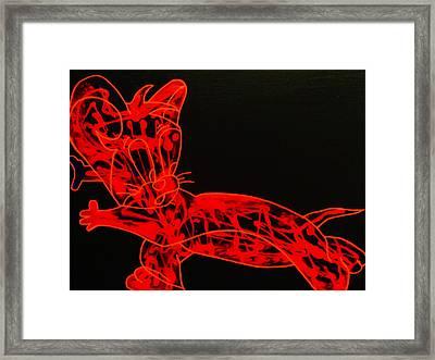 Laser Framed Print