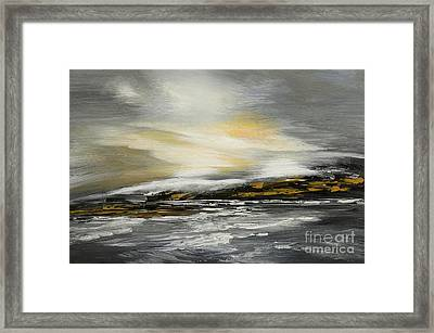 Lashed To Windward Framed Print by Tatiana Iliina