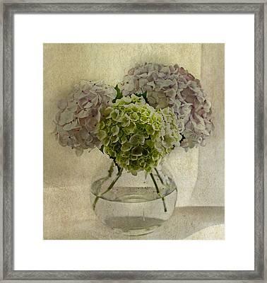 Last Bouquet Framed Print