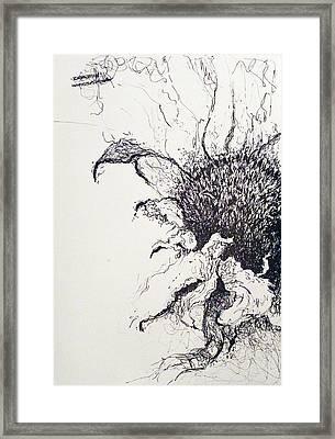 Last Breath Framed Print by Amy Williams