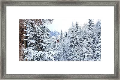 Last Cabin Standing- Framed Print