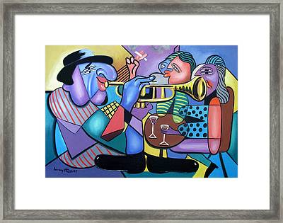 Last Call Framed Print by Anthony Falbo