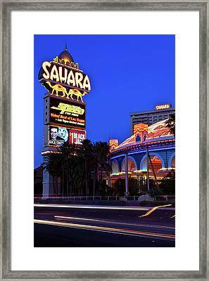 Last Call For The Sahara Framed Print by James Marvin Phelps