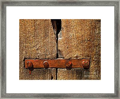 Last Century Framed Print by Mexicolors Art Photography