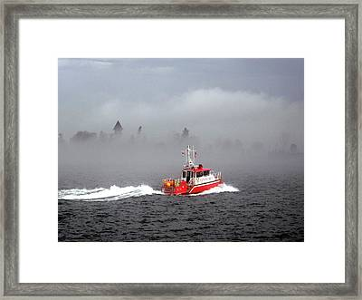 Last Chance Off Calument Island Framed Print