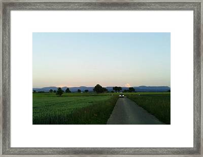 Last Cloud Home Framed Print