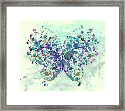 Last Dance Of A Butterfly Framed Print