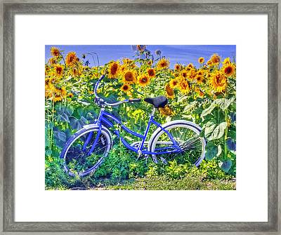 Last Day Of Summer Version 2 Framed Print