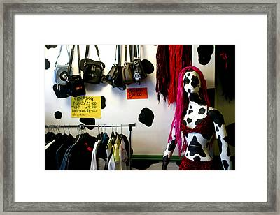 Last Day Of The Sale Framed Print by Jez C Self