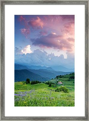 Last Day Of The Spring Framed Print