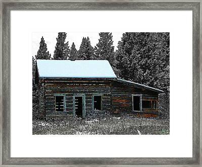 Framed Print featuring the digital art Last Days 1 by Stuart Turnbull