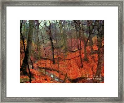Last Days Of Autumn - Limited Edition Framed Print