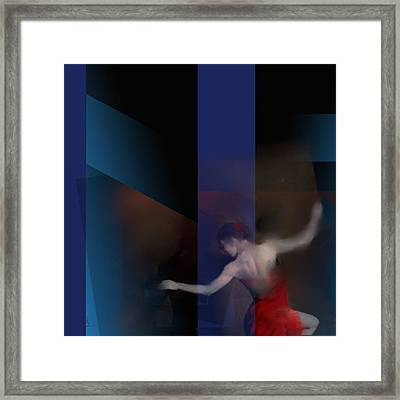Last Flamenco Framed Print