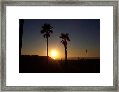 Last Gleaming Framed Print by Terry Groehler
